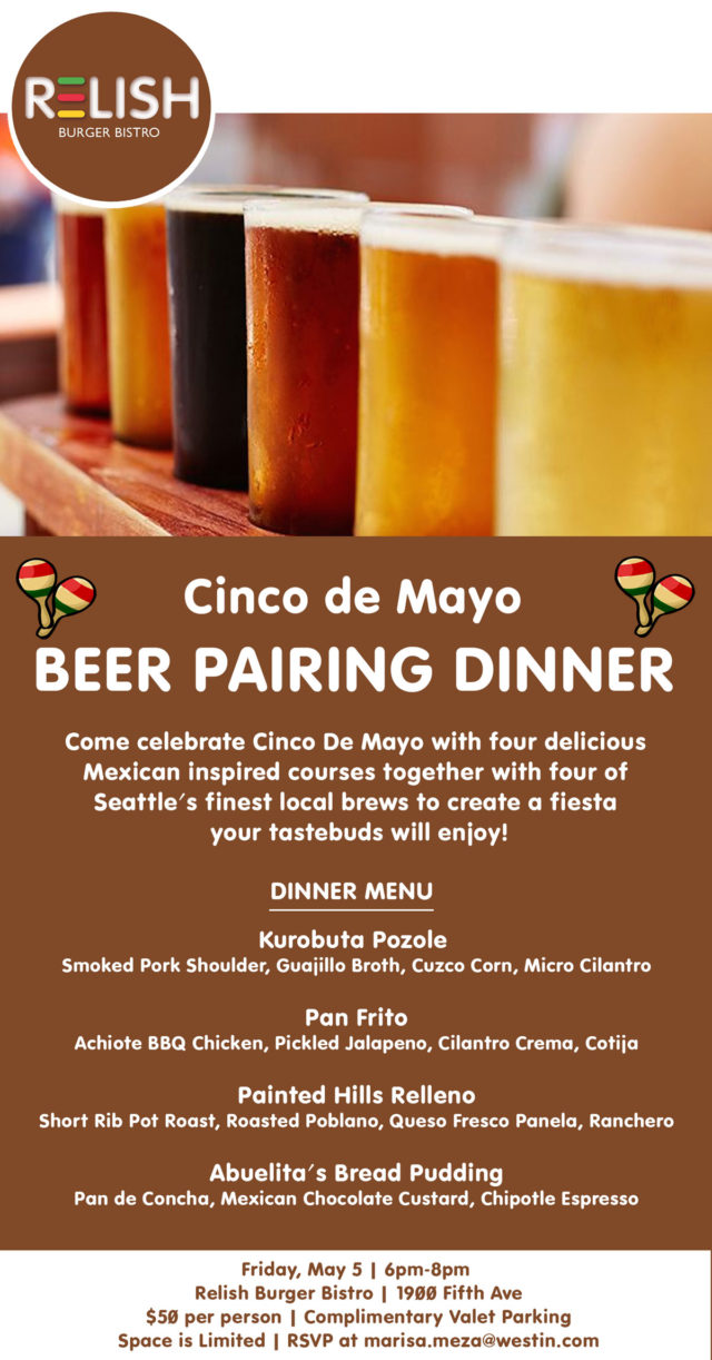 Relish-Burger-Bistro-Seattle-Cinco-de-Mayo-Beer-Dinner